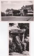 283338Chateau Chinon, Vieux Morvandiau - Place Notre Dame (2 Cartes)(voir Coins) - Chateau Chinon