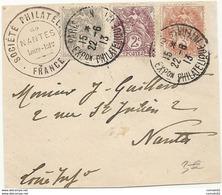 Paris - Exposition Philatelique Internationale. 1913 - Marcophilie (Lettres)