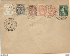 * VERSAILLES - CONGRES * // POSTES.  1920 - Marcophilie (Lettres)
