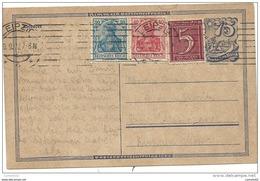 Allemagne - Entier Postal De LEIPZIG Pour BAD KISSINGEN. 1922 - Non Classificati