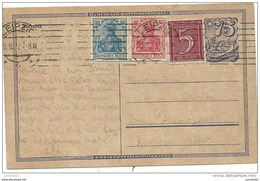 Allemagne - Entier Postal De LEIPZIG Pour BAD KISSINGEN. 1922 - Allemagne