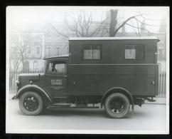Original Photograph - Post Office Telephones - Truck - C.1940s (22 X 16cm) - Photos