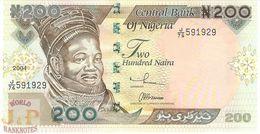 NIGERIA 200 NAIRA 2004 PICK 29c UNC - Nigeria