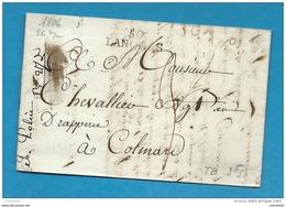 Haute Marne - Langres Pour Colmar. 1806 - 1849-1876: Classic Period