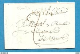 Morbihan - Pontivy Pour La Trinité. LAC De 1820 - 1801-1848: Précurseurs XIX