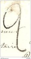 TAXE DE FABRICATION LOCALE - NEUFCHATEL EN BRAY (Seine Inférieure) Pour BOUTTEMONT LES BLANGY. PEU COURANT - 1801-1848: Precursori XIX