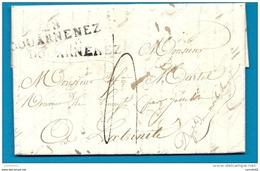 Finistère - Douarnenez Pour La Trinité (Par Josselin) (Morbihan). 28/DOUARNENEZ Cote 100e - 1801-1848: Precursori XIX