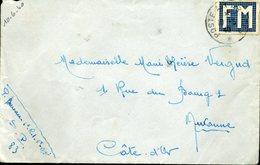Vignette De Franchise Militaire FM Poste Aux Armées SP 83 10 Juin 1940 Vignette Peu Courante DROLE DE GUERRE - Franchigia Militare (francobolli)