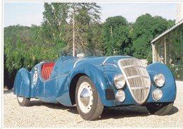 Peugeot Darl'Mat 402 DS Roadster  (1938)  -  Carte Postale Modern - Passenger Cars