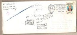 USA - Busta Con Annullo Speciale Viaggiata Per L'Italia: Edison E Einstein - 1980 * G - Storia Postale