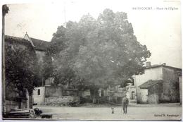 PLACE DE L'ÉGLISE - BAZINCOURT - France