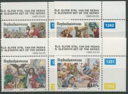 Bophuthatswana 1993 Ostern Leidensgeschichte Jesu Christi 294/97 Postfrisch - Bophuthatswana