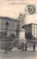 CPA BASTIA - La Statue De Napoléon 1er - Bastia