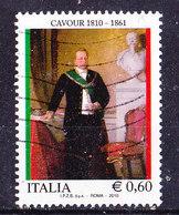 Italia 2010-Cavour-Usato - 2001-10: Oblitérés