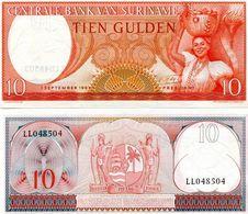 Billet Suriname 10 Gulden - Surinam