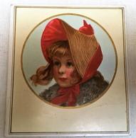 Chromo Cibils - Petite Fille Au Chapeau - Autres