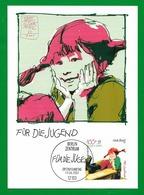 BRD 2001  Mi.Nr. 2191 , Pippi Langstrumpf - Maximum Card - Ersttagsstempel Berlin 13.06. 2001 - [7] Repubblica Federale