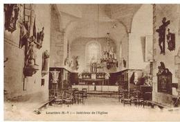 Laurière: Intérieur De L'église - Lauriere