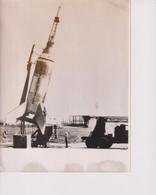 FIRST FOTO OF LITTLE JOE BOOSTER ROCKET  23*18CM Astronáutica Astronautique Raumfahrt Espace - Aviación