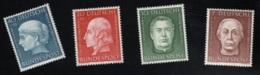 1954 28. Dez. Wohlfahrt Mi DE 200 - 03 Sn DE B338 - 41 Yt DE 76 - 79 Sg DE 1126 - 29 AFA DE 1163 - 66 F. U. G. X - [7] République Fédérale