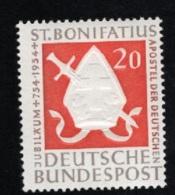 1954 5. Juni Bonifatius Mi DE 199 Sn DE 724 Yt DE 75 Sg DE 1125 AFA DE 1162 Postfr. Xx - [7] République Fédérale
