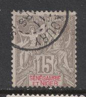 Senegambie Et Niger - Senegambia - Yvert 6 Oblitéré KOURY  - Scott#6 - Used Stamps
