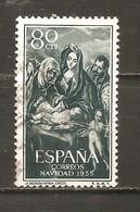 España/Spain-(usado) - Edifil  1184 - Yvert  877 (o) - 1951-60 Gebraucht