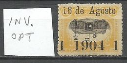 DOMINICANA 1904 Michel 114 K Variety INVERTED OPT ERROR * - Dominican Republic