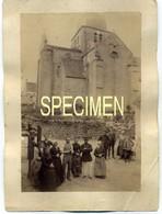 LUPERSAT: PHOTO De L'église Avec L'ancien Cimetière Autour. Document Rare!!!!!! (Environ 1880?) - France