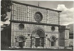 Y5176 L'Aquila - Basilica Di Santa Maria Di Collemaggio / Viaggiata 1960 - L'Aquila
