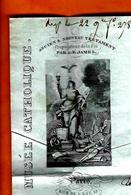 1841 PARIS Avec Entête  LETTRE ENTETE MAILLET DIRECTEUR MUSEE CATHOLIQUE ET EDITEUR => Dumont BANQUIER à Bourges - 1800 – 1899
