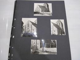 Dossier De 34 Photos 1971   01 BERZY-le-SEC église Etc  Non Collées TBE - Lieux