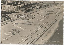 Y5185 Rimini - Panorama Dall'aereo Vista Aerea Aerial View Vue Aerienne / Viaggiata 1961 - Rimini