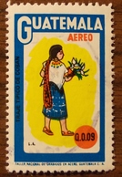 Guatemala 1974,C559,Costume Coban, 1v, O - Guatemala