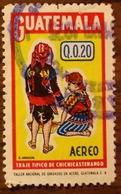 Guatemala 1974,C561,Costume Chichicastenango, 1v, O - Guatemala