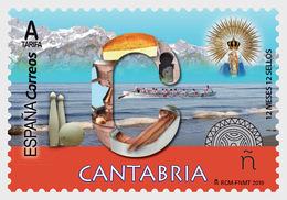 Spain 2019 - 12 Months, 12 Stamps - Cantabria Mnh - 2011-... Ungebraucht