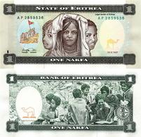 Billet Eritrea 1 Nakfa - Erythrée
