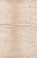 FRANCE LETTRE DE 1883 AVEC TIMBRE TAXE DE 30 C A PERCEVOIR TAMPON A DATE LES ECHELLES - Storia Postale