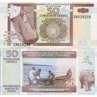 Billet Burundi 50 Fancs - Burundi