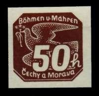 BÖHMEN MÄHREN Nr 49 Postfrisch S3459F2 - Bohemia & Moravia