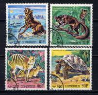 COMORES  - 175/177° - ANIMAUX EN VOIE DE DISPARITION - Isole Comore (1975-...)