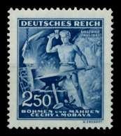 BÖHMEN MÄHREN Nr 130 Postfrisch S3592CA - Bohemia & Moravia