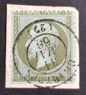 1862, Emperor Napoléon Lll, 1c, France, Empire Française - 1862 Napoléon III