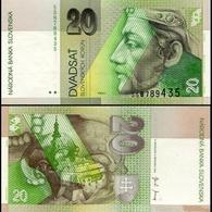 Billet Slovaquie 20 Korun - Slowakei