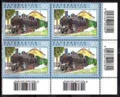 2011 Austria Hystorical Dampf / Steam Locomotives - BBÖ Reihe 378 Block Of 4 MNH**MiNr. 2947 - 1945-.... 2de Republiek
