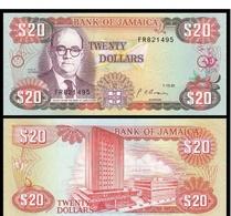Billet Jamaique 20 Dollar - Jamaique