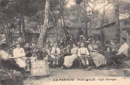 CPA LA PANOUSE - MARSEILLE - Café Rustique - Südbezirke, Mazargues, Bonneveine, Pointe Rouge, Calanque-Felsen