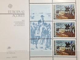 Portugal, Azores, Uncirculated, Souvenir Sheet, «Europa Cept», 1982 - Europa-CEPT