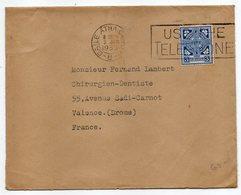 Irlande--Eire--1935--Lettre De BAILE ATHA CLIATH   Pour Valence (France) ......timbre Seul Sur Lettre - 1922-37 Stato Libero D'Irlanda