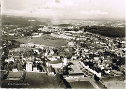 AK Neunkirchen/Saar, Hallenschwimmbad Und Blick Zur Seib 1962 - Kreis Neunkirchen